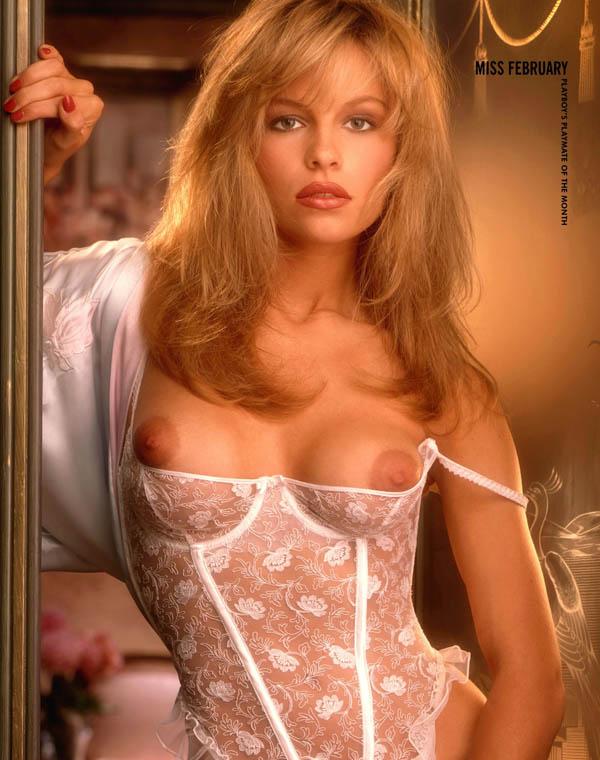 Pamela Anderson, Miss Febrero 1990