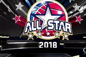 Imagen del logo del juego de estrellas de la NBA 2018