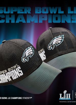Gorra del campeón de la NFL, Águilas de Filadelfia