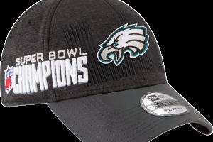 Gorra edición especial del equipo campeón de la NFL, Las Águilas de Filadelfia